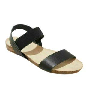 Universal Thread Black Patty Sandals, 6.5